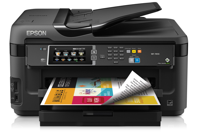 Máy in đa năng Epson Workforce 7710 - In, Scan, Copy, Fax Khổ A3