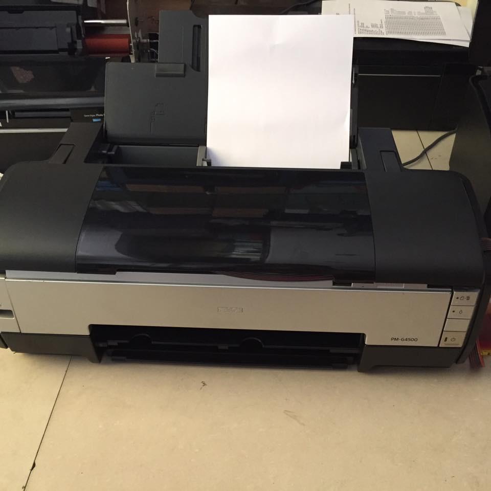 Máy in màu a3 cũ hàng nội địa nhật (đẹp ,bền ,rẽ) epson G4500