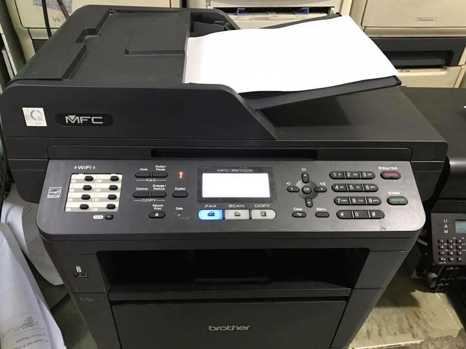 Máy in văn phòng cũ 8910DW in scan copy fax (in đảo mặt tự động với kết nối không dây)